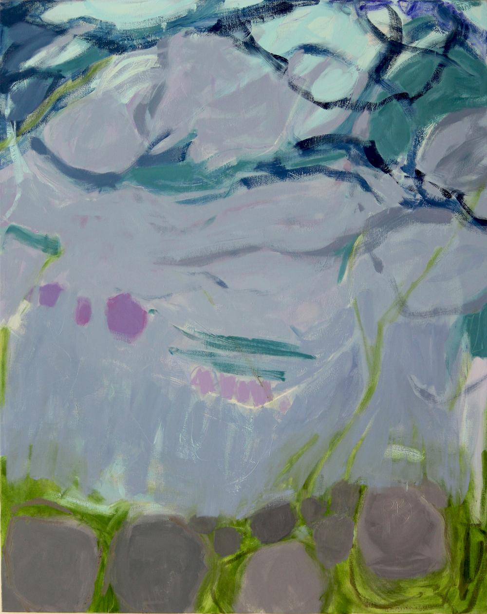 Air, moss & rocks, III