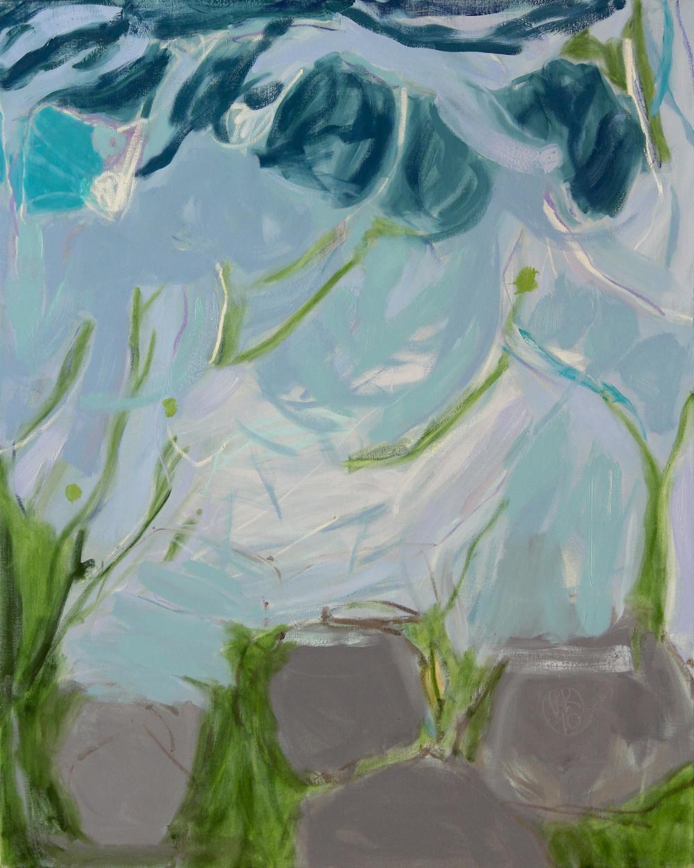 Air, moss & rocks, I