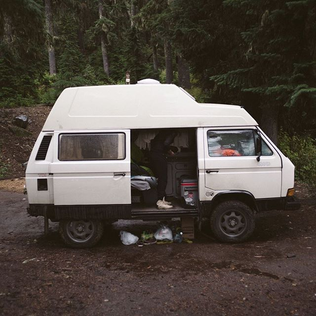 Thirty years ago today, this beautiful machine was built. . Happy buildday, Otis my boy! 🎉 🚐 🍾#notweird #totallynormal #vanlife