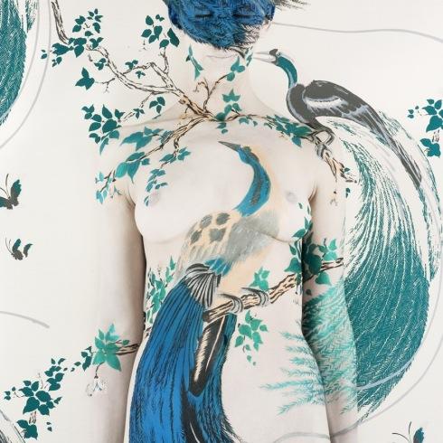 Exotic Bird III (c) Emma Hack via The Cat Street Gallery