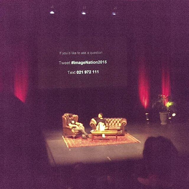 "Incredible speakers at #ImageNation2015 including the one & only Lisa Reihana (apologies for the terrible camera photo!!) It's truly inspirational seeing photographers & artists talking about their work, whilst we might be ""going to sleep"" for a while, we will be back to continue supporting creative people such as these #weloveartists #welovephotography #wewillbeback"