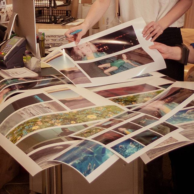 #throwback to this time last year when we were test printing for incredibly talented director & photographer @keziabarnett - her meticulous attention to detail and colour rivals our own! #welovephotography #weloveart #supportnzartists  Also a reminder that if you want to print with @alwayshelen before we go on hiatus we'll need your files by TUESDAY 27TH at the very latest 😱 #onlyoneweektogo #countdowntothehiatus #wewillbeback