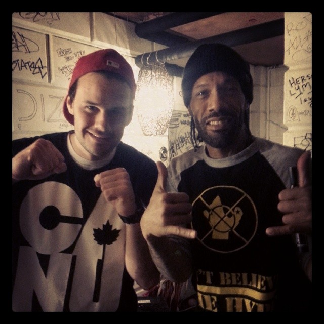 #Redman show was TOO much fun. Shoutout to all the #yeg artists that were out here tonight. New #projectstripes video coming in the next few days. #wutangclan #wu #Gatekeeper #hiphop