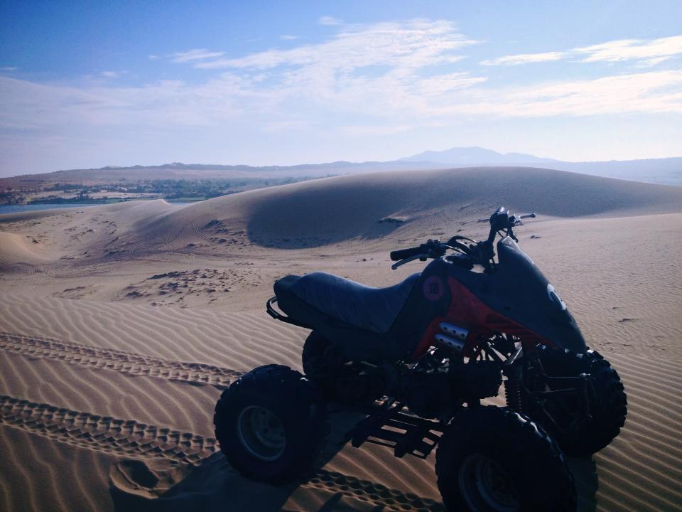 White Sand Dune Quading!