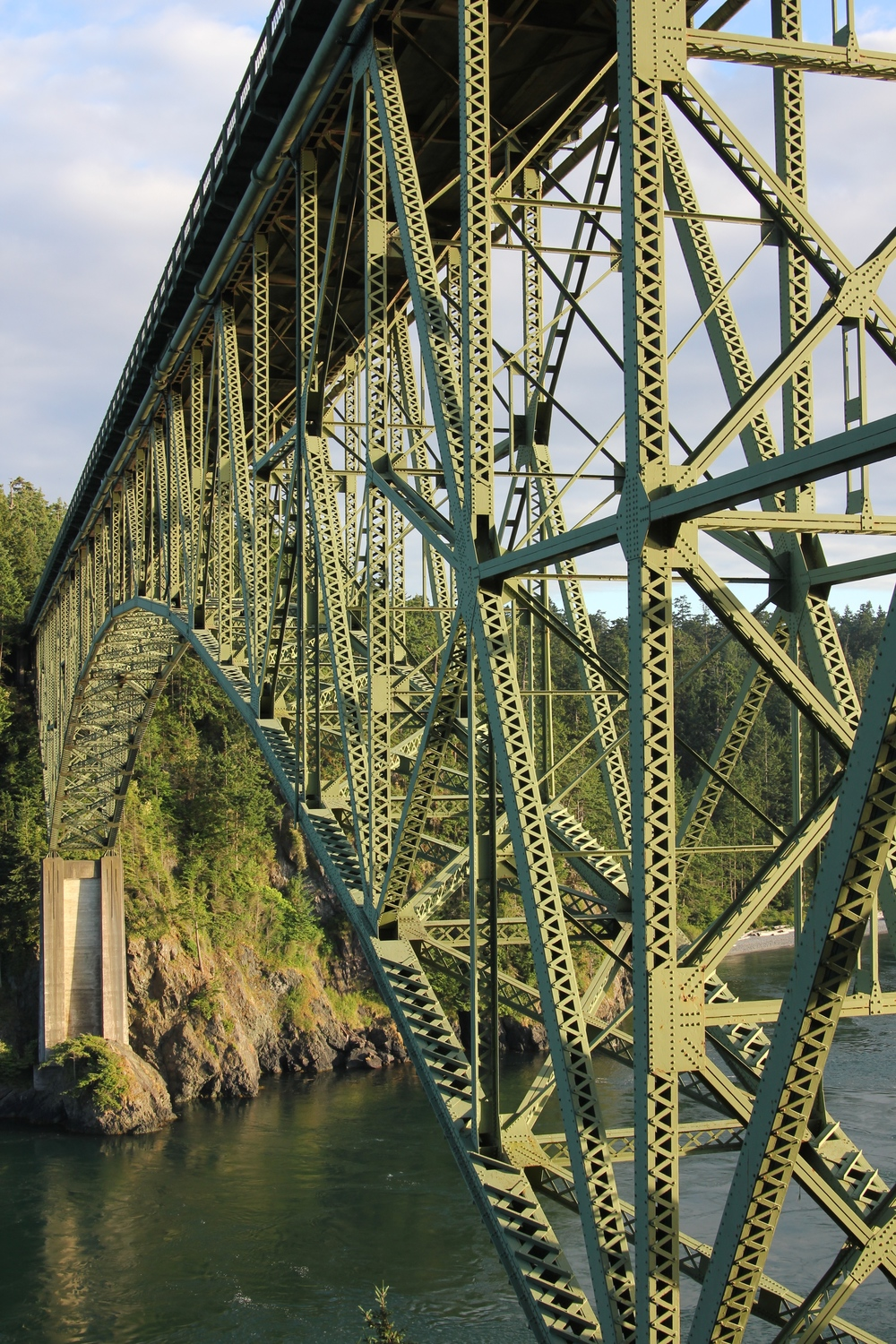 Deception Pass Washington by drawntocities.com