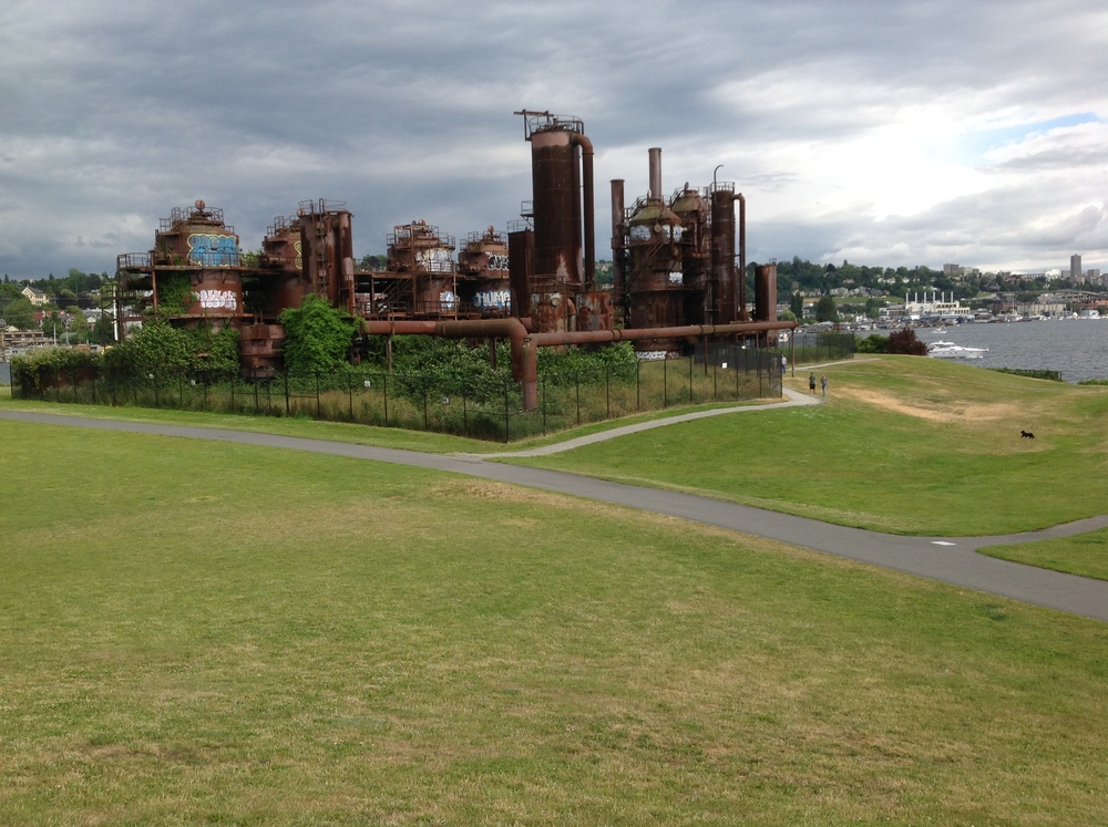 Gas Works Park Seattle by drawntocities.com