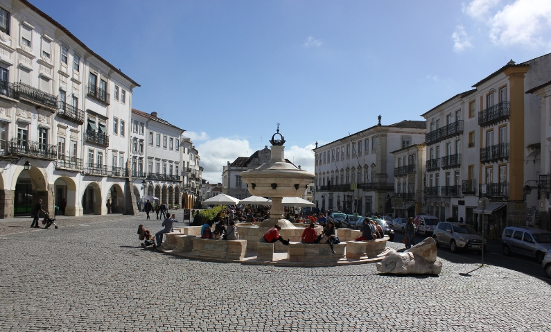 Praca do Giraldo Evora by Drawntocities.com