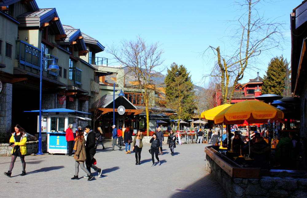 Whistler Streetscape by Drawntocities.com