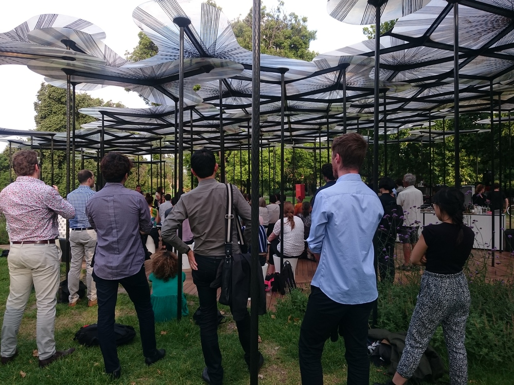MPavilion offers a great opportunity to engage the public in discussions on urban planning policy.