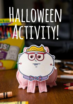 OMG Friends Halloween Activity
