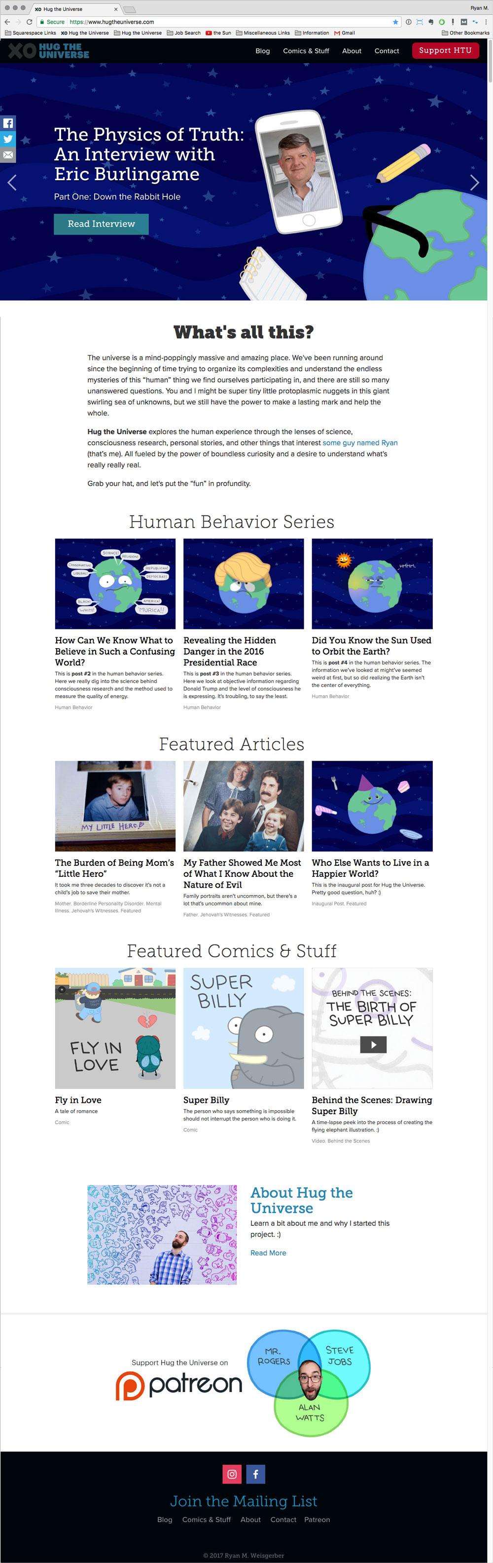hug-the-universe-website-design