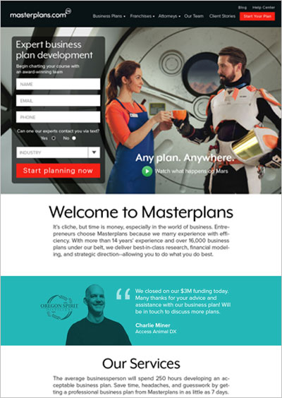 Masterplans Visual Design     UX Design, Web Design, Icon Design, Art Direction, Branding