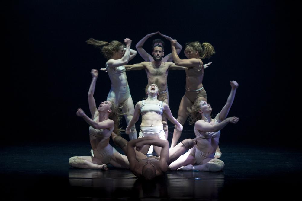 BLÆÐI: OBSIDIAN PIECES - DAMIEN JALET, ERNA ÓMARSDÓTTIR & SIDI LARBI CHERKAOUI -CELAND DANCE COMPANY PRODUCTION