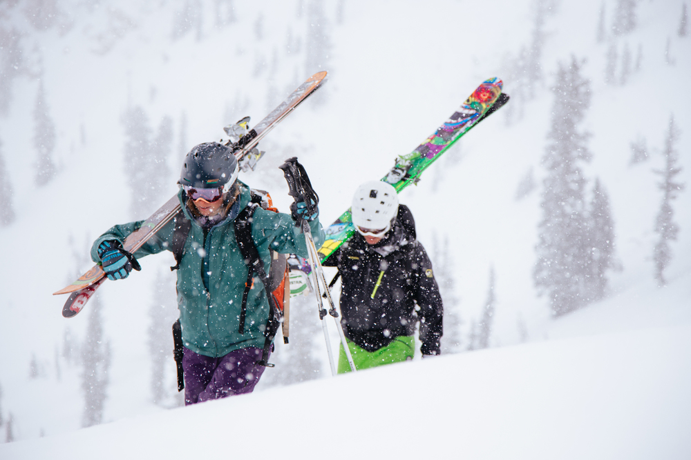 Abbey and Mark | Alta Backcountry, UT