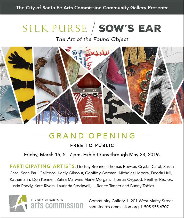 Silk Purse / Sow's Ear March 15, 2019 in Santa Fe — Sean Paul Gallegos