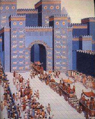 Babylon's Gate of Ishtar