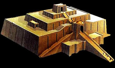 Esagila ziggurat model