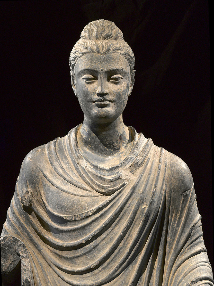 ... philosopher Buddha from ancient Gandhara (Pakistan/Afghanistan