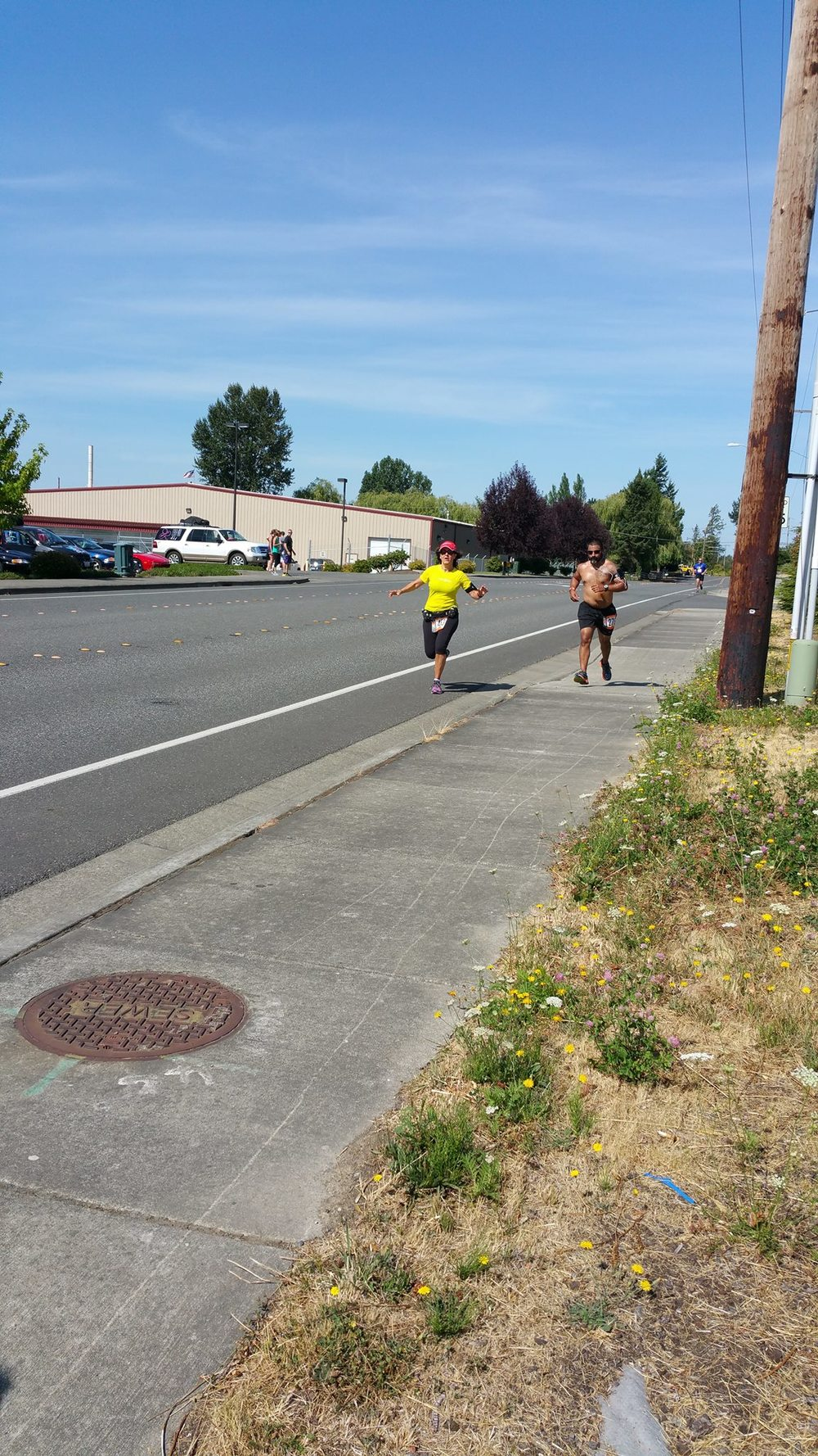 Donna running with hottie on 1st leg.jpg