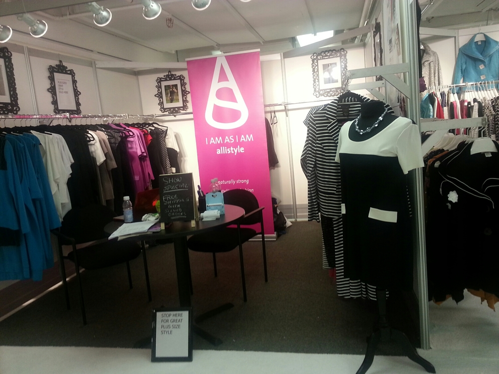 Allistyle booth at Atlanta AmericasMart October 2015