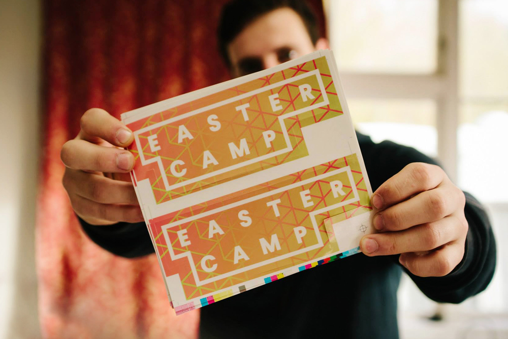 Eastercamp 2015 Die-cut Stickers - THOMPSONCo