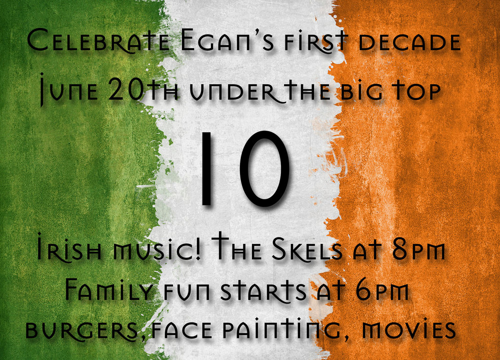 Post photos of yourselves at Egans on our Facebook page. We'd love to see them!