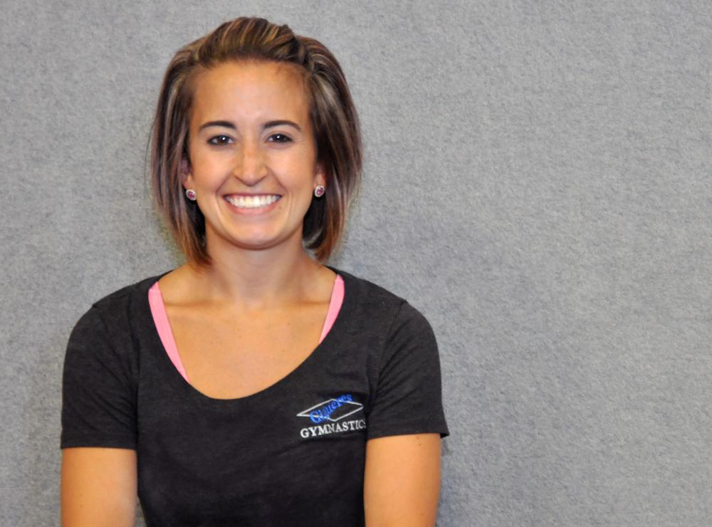 Gymnastics Coach Megan German