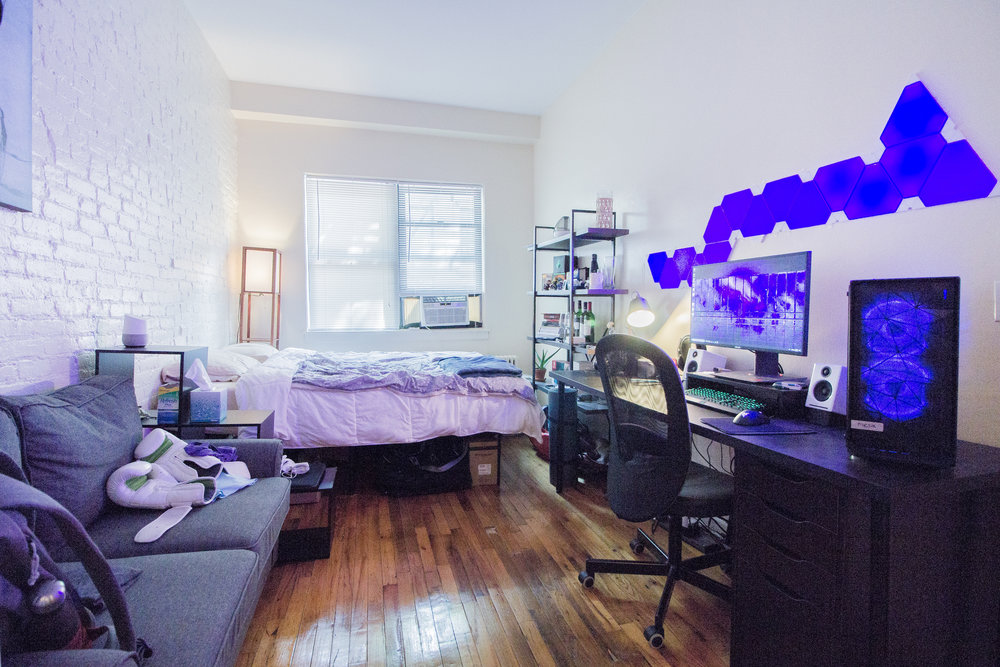 419 W 59 Street #1A - This great studio is located in a pre-war building located on W 56 ST right off of Ninth Ave. The apartment features hard wood floors, high ceilings, exposed brick and has a separate dressing area. Apartment is conveniently located just a few blocks away from Columbus Circle, Whole Foods, Restaurants and Central Park!Sorry, No Pets or smokingRent: $1,795 /monthTerms: 12 - 12 MonthsAvailable: July 1st