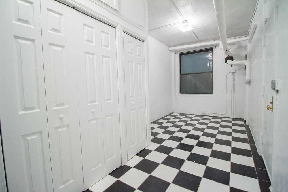 217 E 10th Street #EBSM - Spacious artist studio in East Village! Great closet space, brand new renovated bathroom and open kitchen. Located on basement level. The building is set in prime East Village surrounded by restaurants, cafes, close to public transportation and parks.  Rent: $1,750 /monthTerms: 12 - 12 MonthsAvailable: Immediate