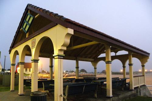 Nobby's Beach pavilion