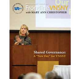 Frontline VNSNY Special CEO Issue
