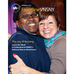 Frontline VNSNY Magazine (Sample)