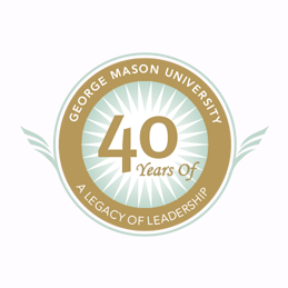 George Mason University 40th Anniversary Logo