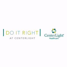 CenterLight Healthcare Do It Right Logo