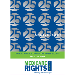 Medicare RIghts Center Save the Date Postcard