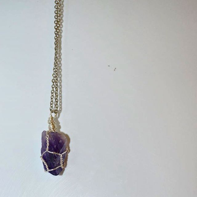 Give a gift that matters. . . . #necklace #holidays #sale #NC #crystal #crystals #shoplocal #amethyst #charity #giveback #cancer #cancersucks #multiplemyeloma #beatcancer #uams
