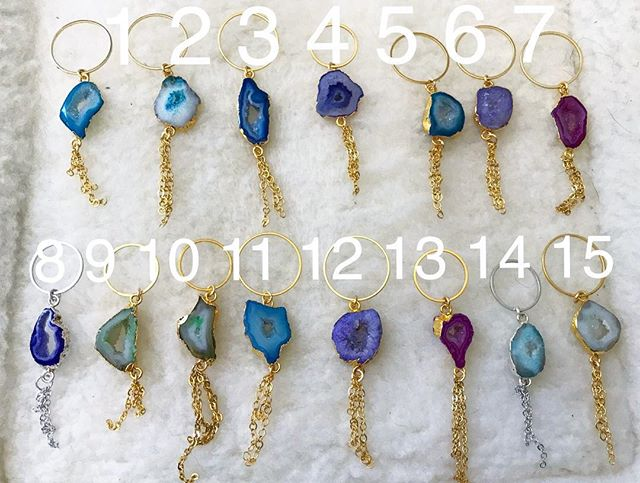 FLASH SALE!! Clearing out old inventory, including these AGATE keychains! 1 for $6, or 3 for $15! MESSAGE me if interested in buying--not accepting online orders right now!  #sale #agate #keychains #flashsale #agate #crystals #crystal