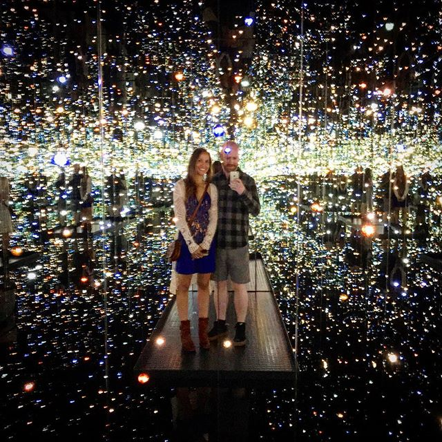 "Yayoi Kusama's Infinity Mirrored Room ""The Souls of Millions of Light Years Away"""
