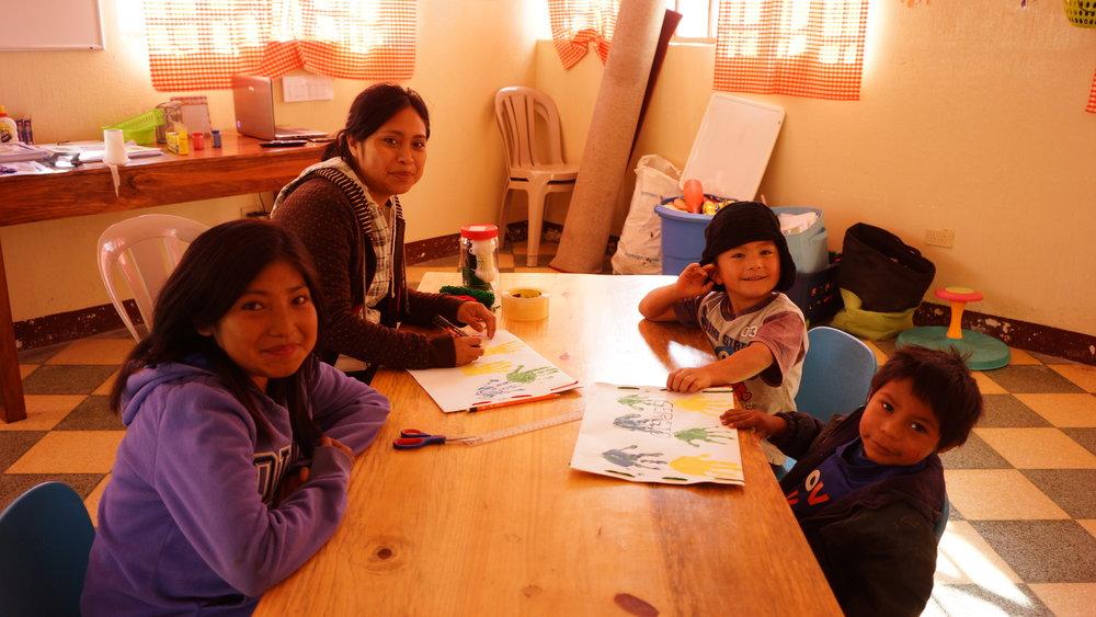 Janet's preschool class