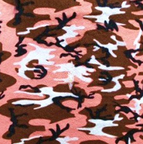 Pink/Brown Camo