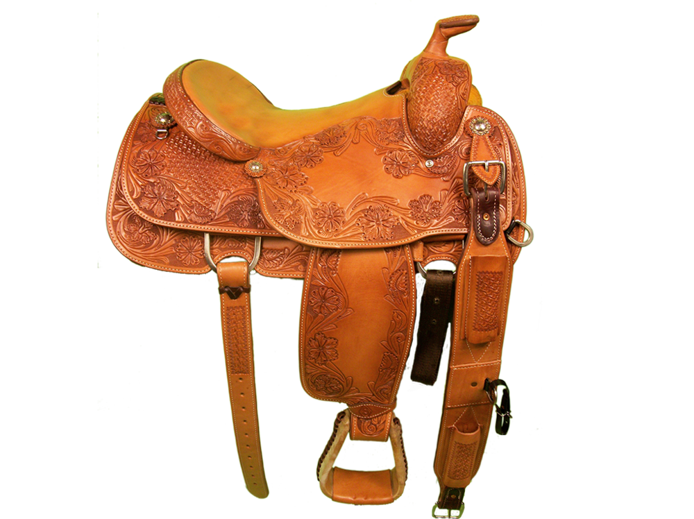 STEER WRESTLING SADDLES