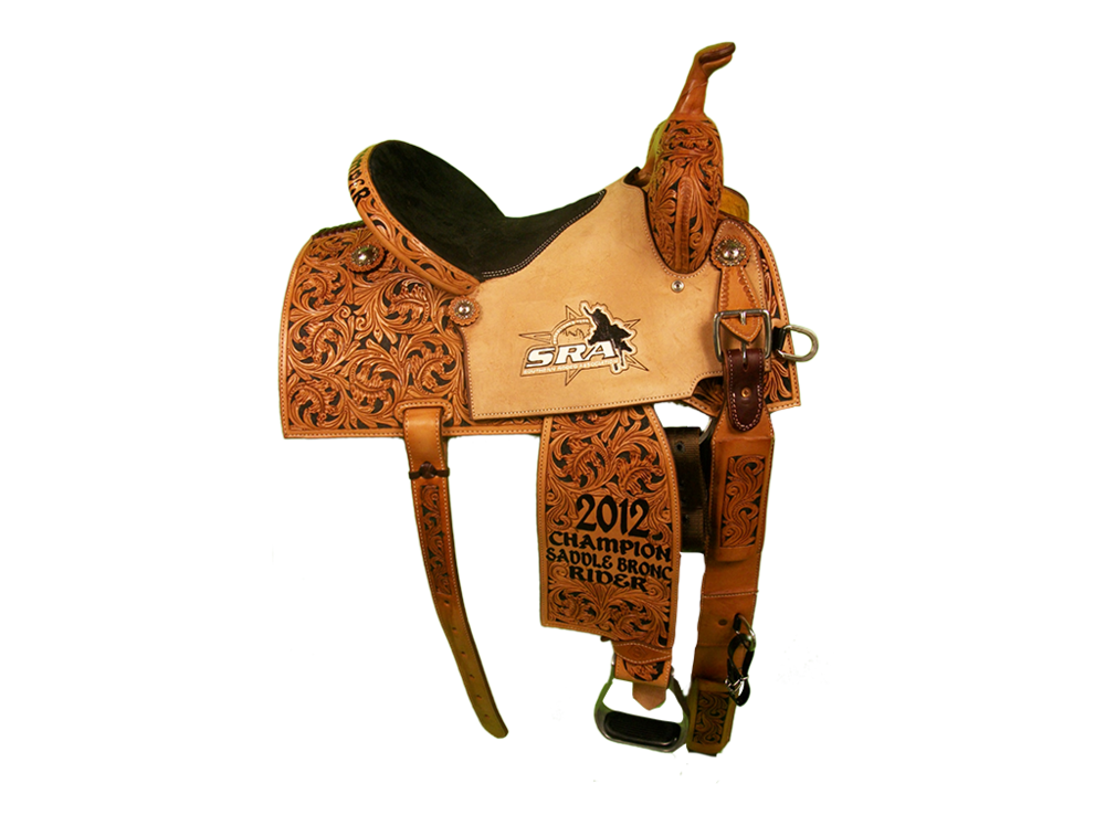 Saddle Details: Square Cut Patterns.7/8 Oak with Black Dyed Background.Black Suede Bicycle Seat.