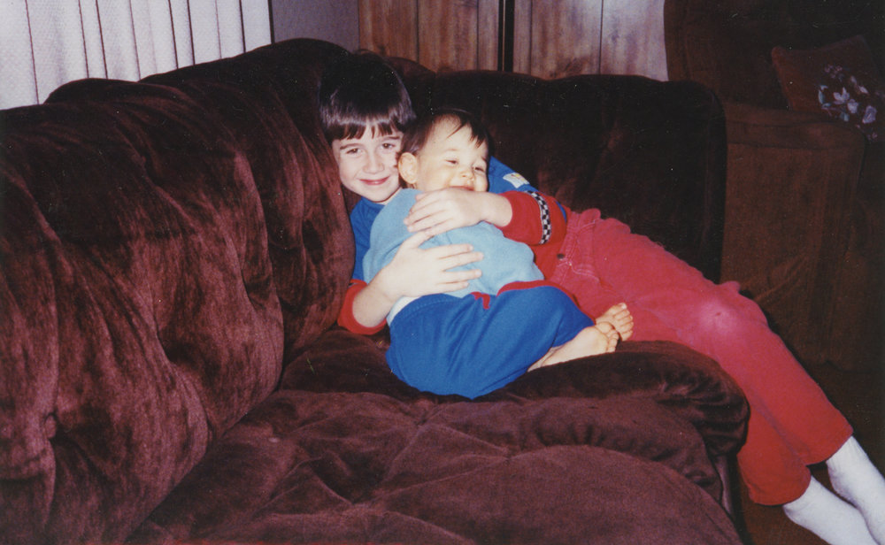 John, my brother. 1992