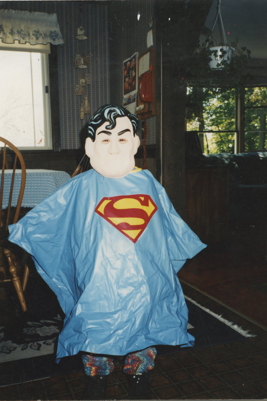Halloween as Superman. 1994
