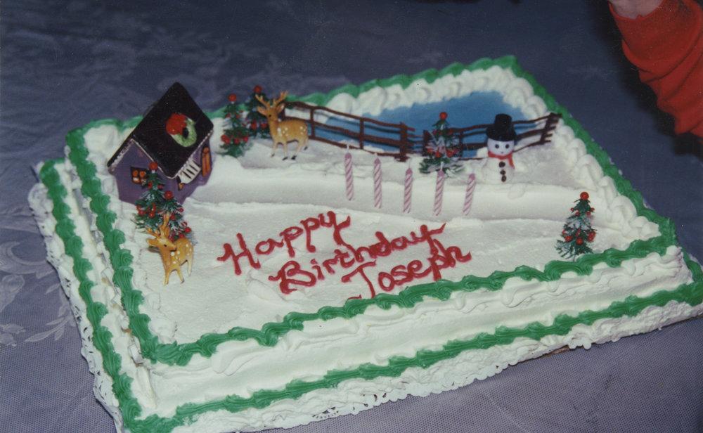 Birthday. 1995