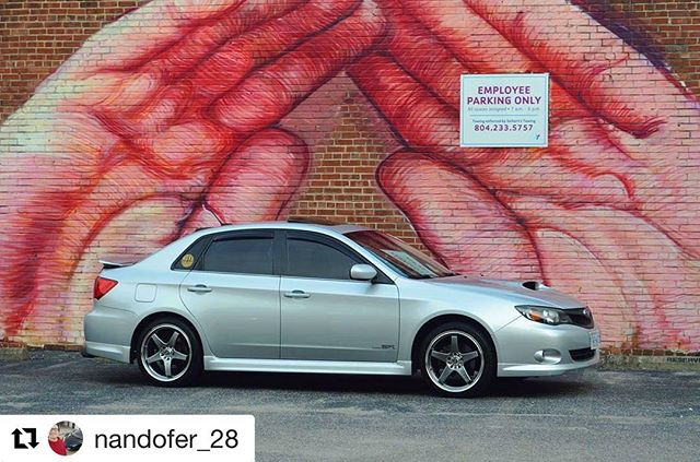 #Repost @nandofer_28 Repping NovaSubarus! Tag us for have a NovaSubarus decal. ・・・ @battle.my.love killing the game yet again with these pics! And as always, reppin that @nova_subarus sticker! Richmond is awesome, I cant wait to go back 🔥