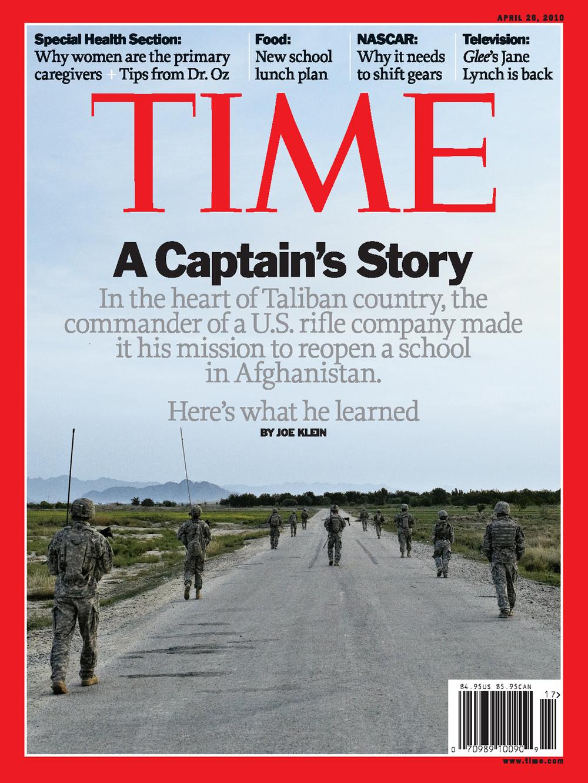 'A Captain's Story', Time Magazine, April 26, 2010.