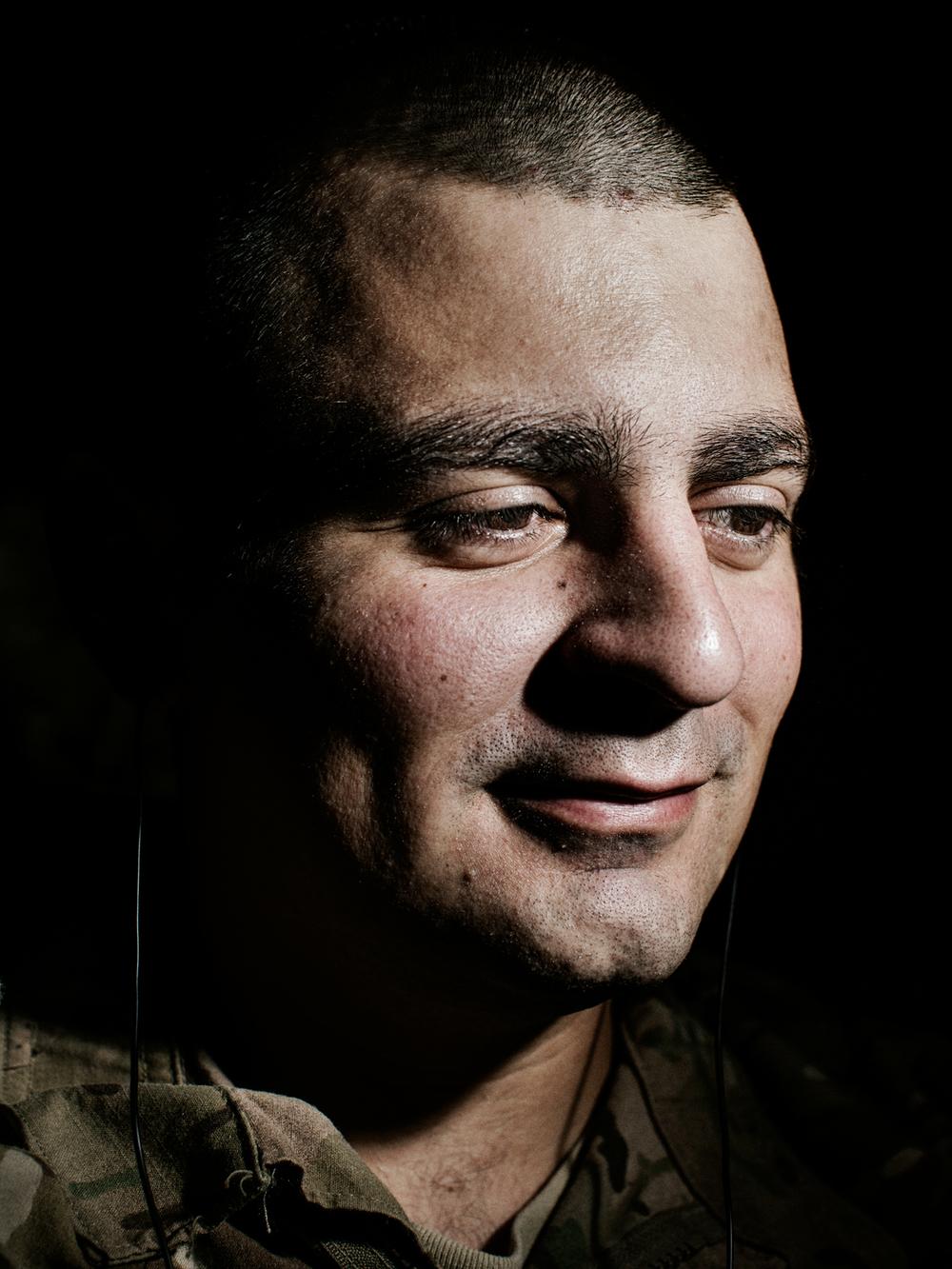 U.S. Army Sergeant Matthew Kurtz.