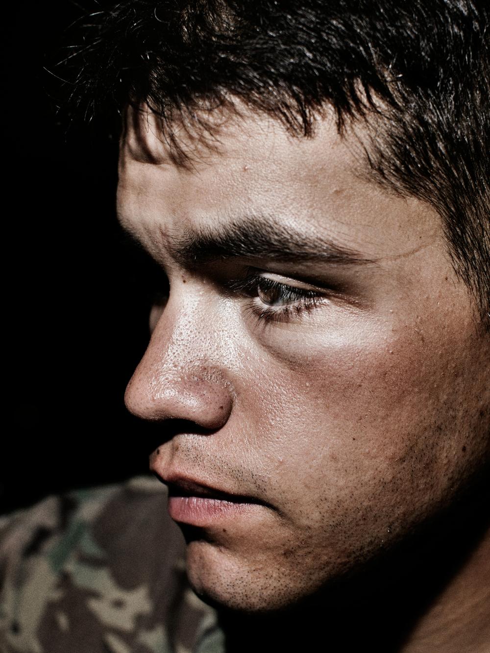 U.S. Army Specialist Anthony Inzitari.