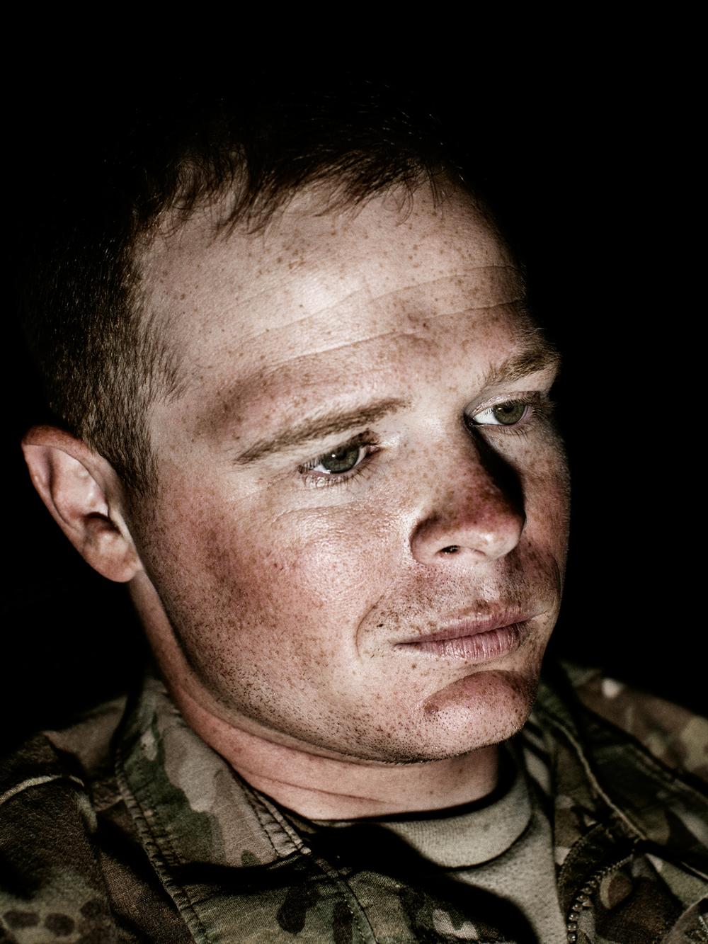 U.S. Army Specialist Nathaniel Taylor.